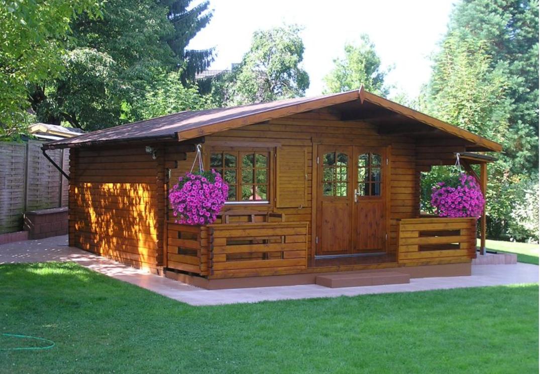 Vente de chalets et abris de jardin en bois