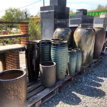 Vente de pots en terre grès près de Bordeaux