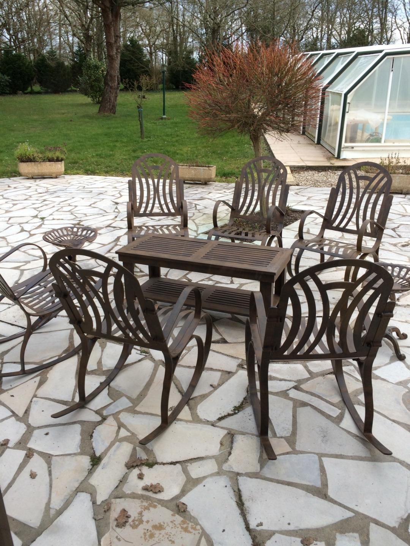 Vente De Mobilier De Jardin Aluminium Picot Deco Jardin En Gironde